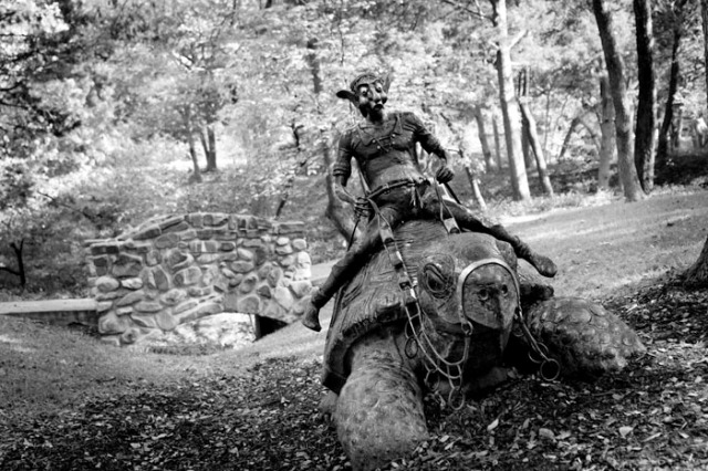 Elf Riding Tortoise